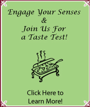 Join Joanie's Catering for a Taste Test!